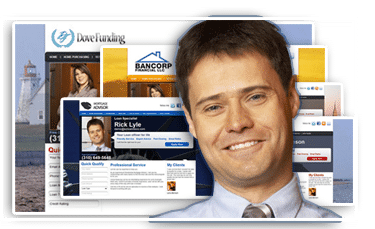 loan officer web site templates and broker designs ezloandocs