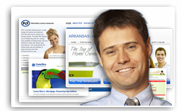 Custom Mortgage Broker Web Site Design | Ezloandocs - Mortgage web ...